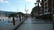 Port Argeles, ses bateaux et ses commerces